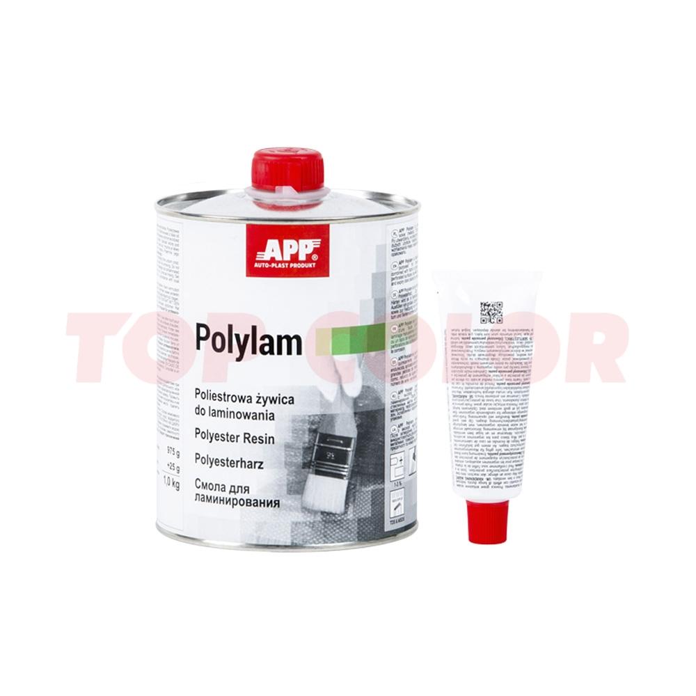 Полиэфирная смола APP Polylam 1кг