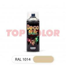 Спрей-краска в баллончике DECO BLIK RAL 1014 Слоновая кость 0,4л