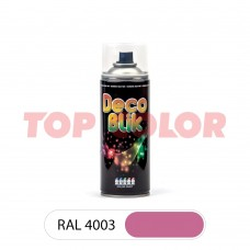 Спрей-краска в баллончике DECO BLIK RAL 4003 Вересково-фиолетовый 0,4л