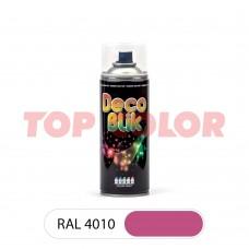 Спрей-краска в баллончике DECO BLIK RAL 4010 Телемагента 0,4л