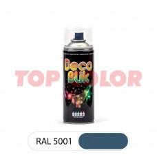 Спрей-краска в баллончике DECO BLIK RAL 5001 Зелено-синий 0,4л