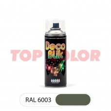 Спрей-краска в баллончике DECO BLIK RAL 6003 Оливково-зеленый 0,4л