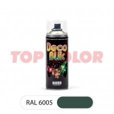 Спрей-краска в баллончике DECO BLIK RAL 6005 Зеленый мох 0,4л