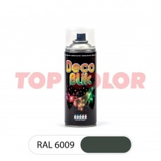 Спрей-краска в баллончике DECO BLIK RAL 6009 Пихтовый зеленый 0,4л