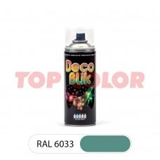 Спрей-краска в баллончике DECO BLIK RAL 6033 Мятно-бирюзовый 0,4л