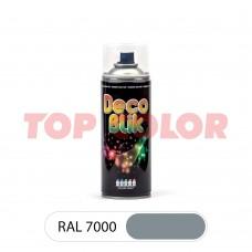 Спрей-краска в баллончике DECO BLIK RAL 7000 Серая белка 0,4л