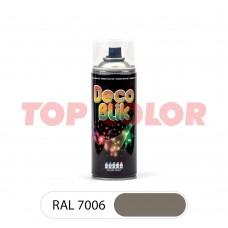 Спрей-краска в баллончике DECO BLIK RAL 7006 Бежево-серый 0,4л