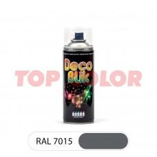 Спрей-краска в баллончике DECO BLIK RAL 7015 Сланцево-серый 0,4л