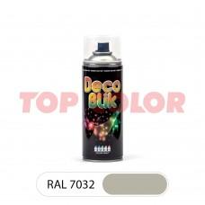 Спрей-краска в баллончике DECO BLIK RAL 7032 Галечный серый 0,4л