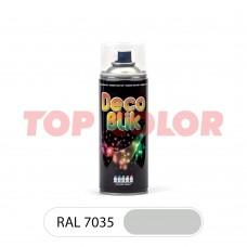 Спрей-краска в баллончике DECO BLIK RAL 7035 Светло-серый 0,4л