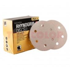 Абразивный круг INDASA Rhynogrip Plus Line 6 отв. 150мм P80 (пач. 50 шт.)
