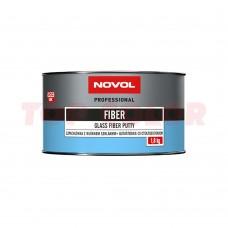 Шпатлевка со стекловолокном NOVOL FIBER 1225 1,8кг