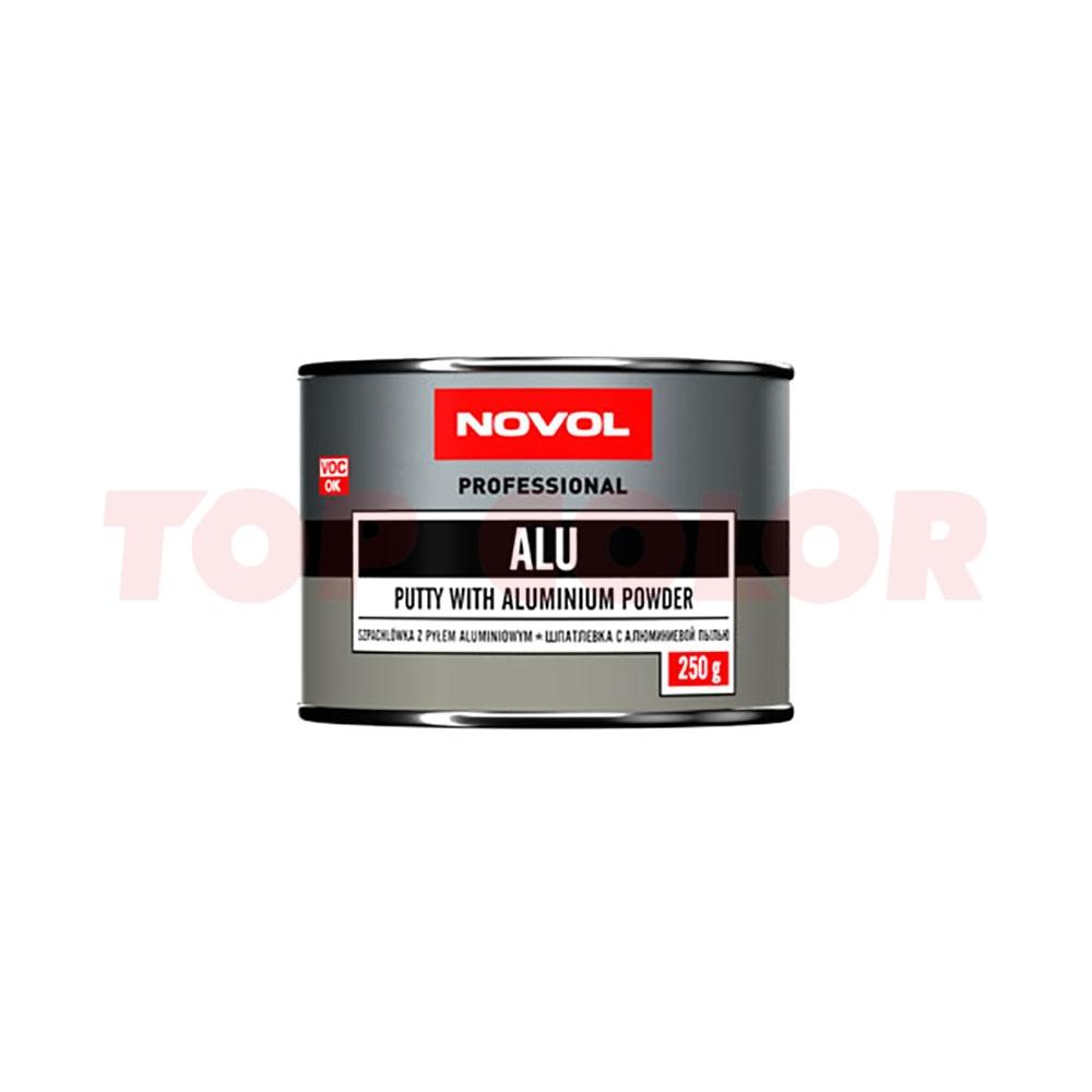 Шпаклевка с алюминиевым наполнителем NOVOL ALU 1160 0,25кг