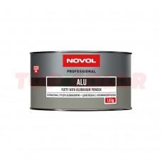 Шпатлевка с алюминиевым наполнителем NOVOL ALU 1165 1,8кг