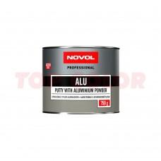 Шпатлевка с алюминиевым наполнителем NOVOL ALU 1162 0,75кг