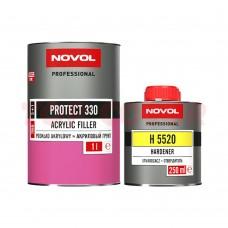 Грунт-наполнитель 5:1 NOVOL PROTECT 330 белый 1л + Отвердитель H5520 0,2л
