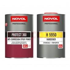 Эпоксидный грунт NOVOL PROTECT 360 0,8л + Отвердитель H5950 0,8л