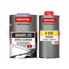 Лак VHS NOVOL NOVAKRYL 520 1л + Отвердитель H5110 стандартный 0,5л