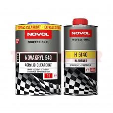 Лак NOVOL NOVAKRYL 540 1л + Отвердитель H5140 0,5л