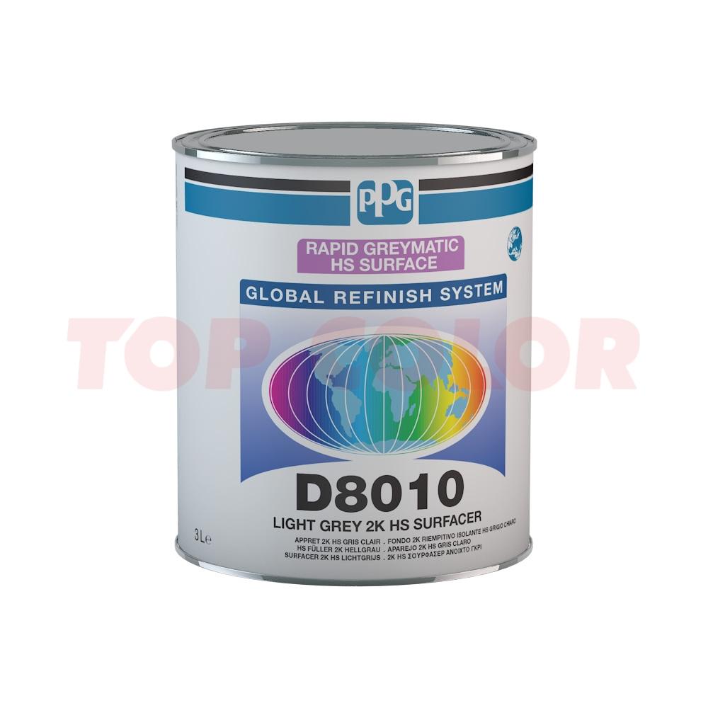 Грунт-порозаполнитель PPG D8010 белый 3л