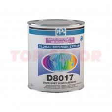 Грунт-порозаполнитель PPG D8017 темно-серый 3л