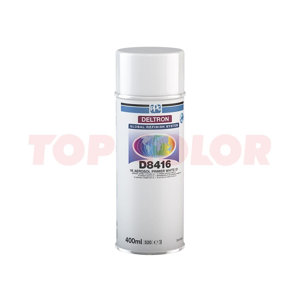 1К Аэрозольный грунт PPG D8416 белый G1 0,4л