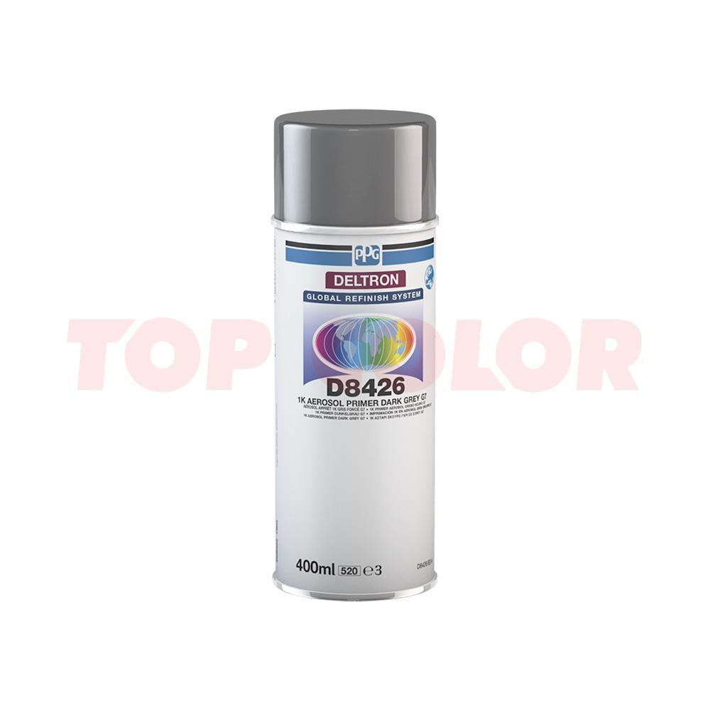 1К Аэрозольный грунт PPG D8426 темно-серый G7 0,4л
