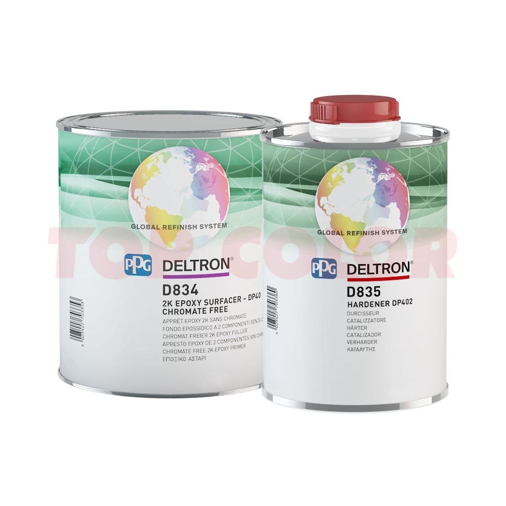 Эпоксидный грунт PPG D834 (DP40) 3л + Отвердитель D835 3л
