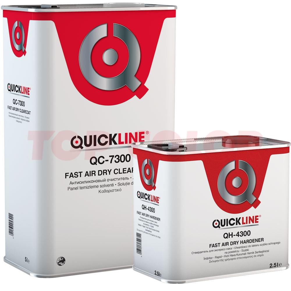 Лак быстросохнущий QC-7300 5л + Отвердитель QH-4300 2,5л