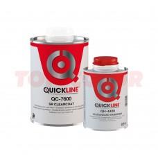 Лак прозрачный HS QC-7600 SR 1л + Отвердитель HS QH-4420 стандартный 0,5л