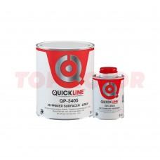Грунт-наполнитель 5:1 QUICKLINE QP-3405 серый 1л + Отвердитель MS QH-4220 стандартный 0,2л