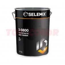 Грунт 1K синтетический SELEMIX 3-0800 25кг серый