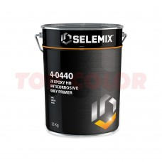 Эпоксидный грунт 2к высоконаполненный SELEMIX 4-0440 (серый) 25кг