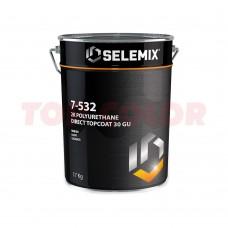 Грунт-эмаль 2K полиуретановая глянец 30% (темные тона) SELEMIX 7-532 17кг