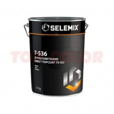 Грунт-эмаль 2K полиуретановая глянец 70% (темные тона) SELEMIX 7-536 17кг