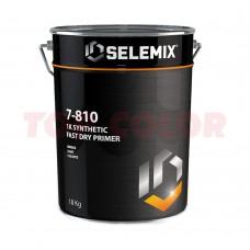 Грунт 1K быстросохнущий SELEMIX 7-810 18кг серый