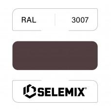 Грунт-эмаль полиуретановая SELEMIX 7-538 Глянец 80% RAL 3007 Черно-красный 1кг