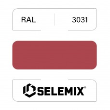 Грунт-эмаль полиуретановая SELEMIX 7-536 Глянец 70% RAL 3031 Восточный красный 1кг