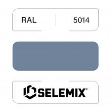 Эмаль синтетическая быстросохнущая SELEMIX 7-610 RAL 5014 Голубино-синий 1кг