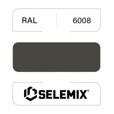 Эмаль полиуретановая EXTRA SELEMIX 7-512 Глянец 90% RAL 6008 Коричнево-зеленый 1кг