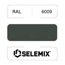 Эмаль полиуретановая EXTRA SELEMIX 7-512 Глянец 90% RAL 6009 Пихтовый зеленый 1кг