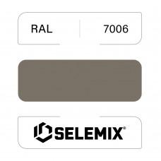 Грунт-эмаль полиуретановая SELEMIX 7-536 Глянец 70% RAL 7006 Бежево-серый 1кг
