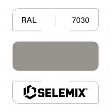 Эмаль хлор-алкидная быстросохнущая SELEMIX 7-910 RAL 7030 Каменно-серый 1кг