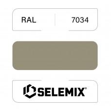 Грунт-эмаль полиуретановая SELEMIX 7-534 Глянец 50% RAL 7034 Желто-серый 1кг