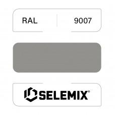 Эмаль хлор-алкидная быстросохнущая SELEMIX 7-910 RAL 9007 Серо-алюминиевый 1кг