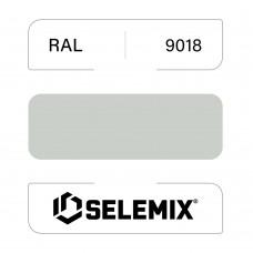 Эмаль хлор-алкидная быстросохнущая SELEMIX 7-910 RAL 9018 Папирусно-белый 1кг