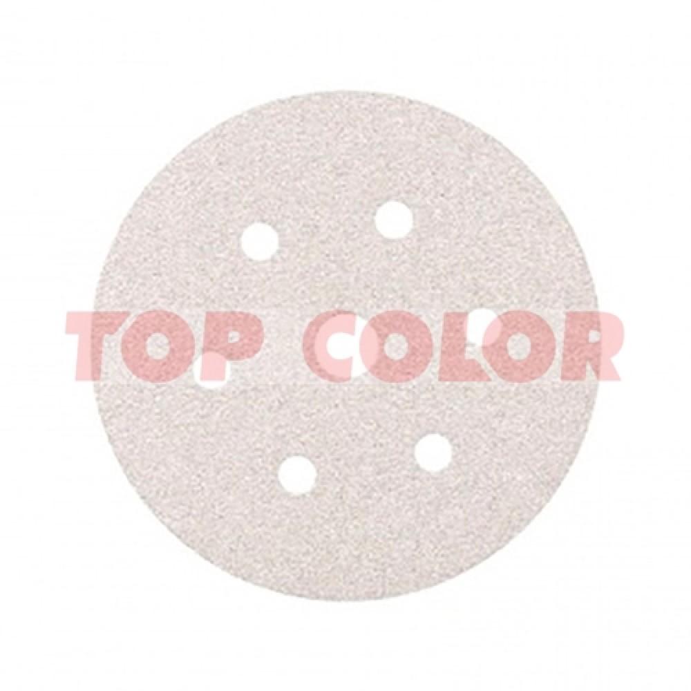 Шлифовальный круг SMIRDEX 510 WHITE LINE P180 Ø150мм 7 отв.