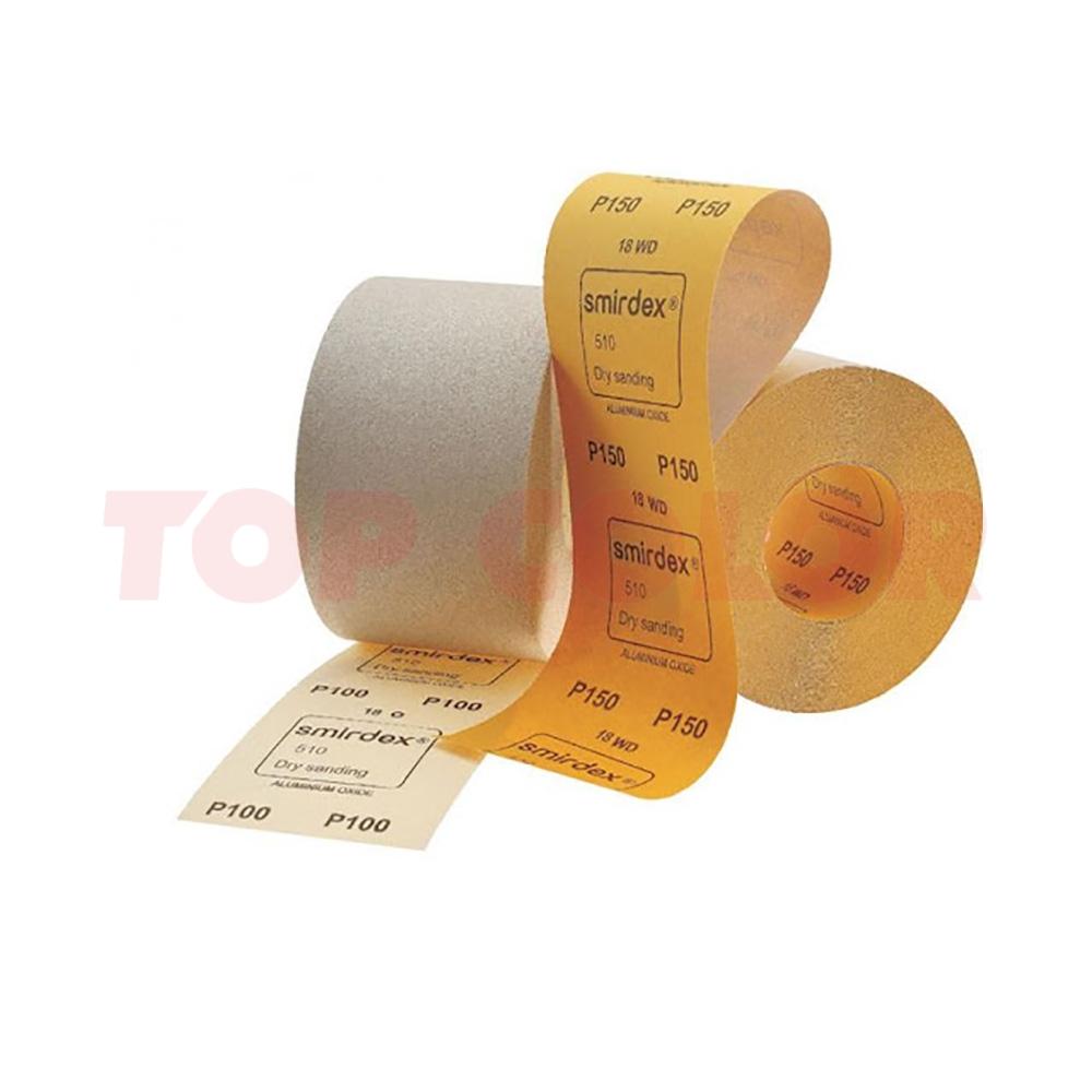 Абразивная бумага SMIRDEX 510 WHITE LINE P120 115мм